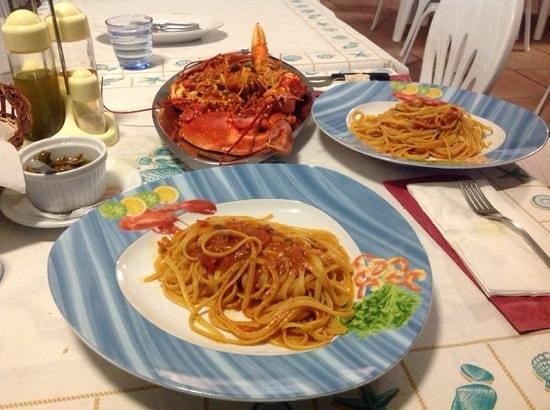 Villaggio Camping Bellariva: Linguine al astice
