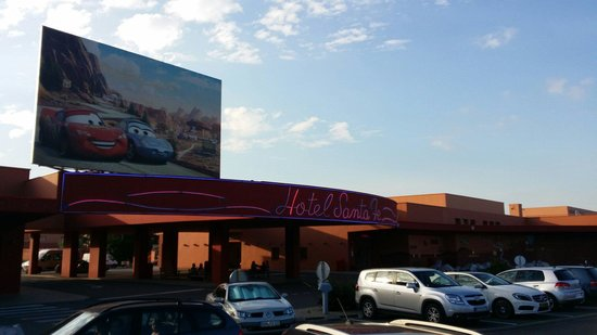 Disney's Hotel Santa Fe : Hotel santa-fe