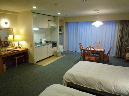 Hotel Ambient Izukogen Honkan : 部屋にはキッチン