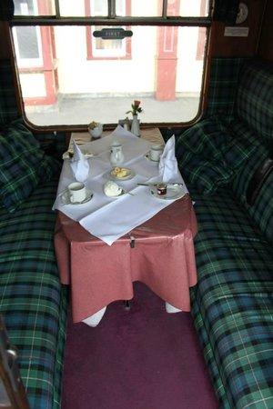 Strathspey Steam Railway: First Class Cabin
