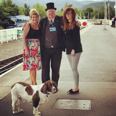 Strathspey Railway: The Train Controller and his Pal Ben