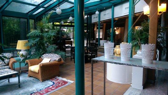 Grand Hotel Panoramic: Espace de détente.