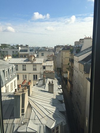 Hotel Jules & Jim : A room with a view!