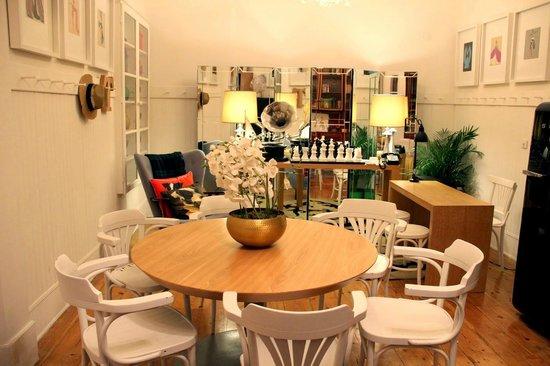 Casa Oliver Principe Real : Área Comum / Mesa de refeições / Recepção