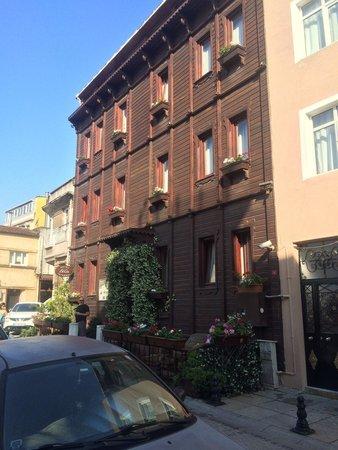 Tria Hotel Istanbul : Fachada