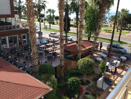 Eftalia Aytur Hotel: Udsigt fra vores værelse