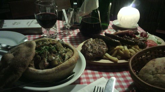 """Kafana Question Mark : The """"breaded pot"""" and the mix of grilled meat"""