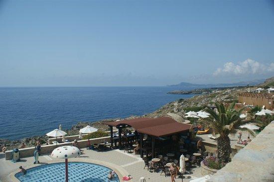 Kalithea Horizon Royal: View over Kalithea Beach