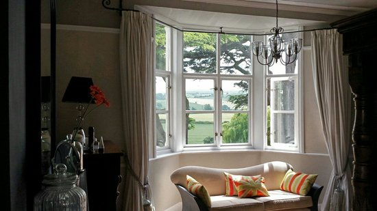 Wollaston Lodge Bed & Breakfast: What a view.