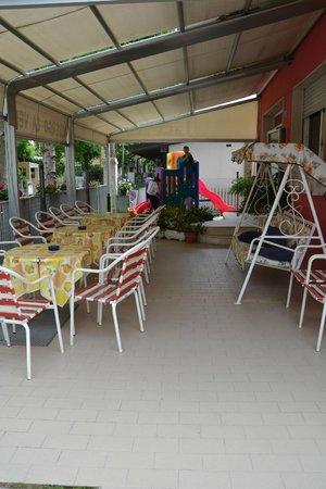 Hotel la Vela : giardino