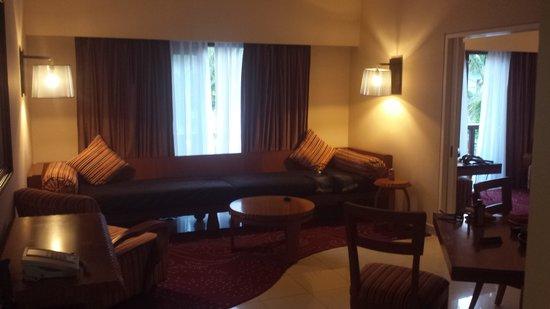 Hard Rock Hotel Bali: teil unserer Suite