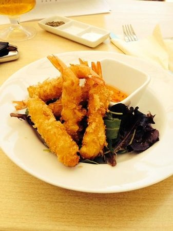 Chimes Of St James: the yummy tempura prawns :)