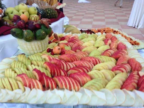 El Mouradi Gammarth: Buffet di frutta