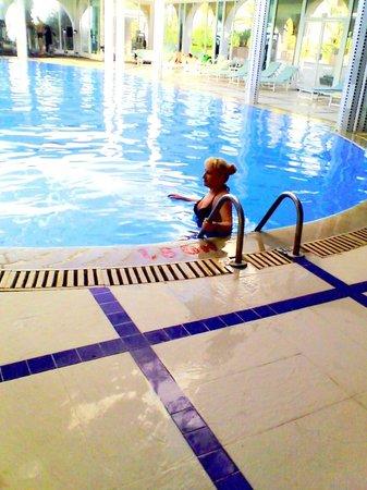 Dessole Le Hammamet Resort: Я перед заплывом.