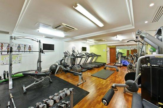 Oakley Court Hotel Gym