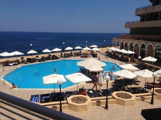 Radisson Blu Resort, Malta St Julian's: Main pool area