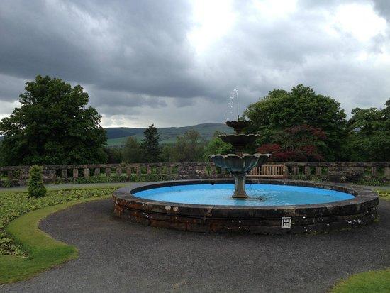 Gleneagles: Scottish skies!