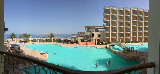 King Tut Aqua Park Beach Resort: The view