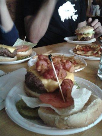 Corner Bistro : Una deliciosa hamburguesa!