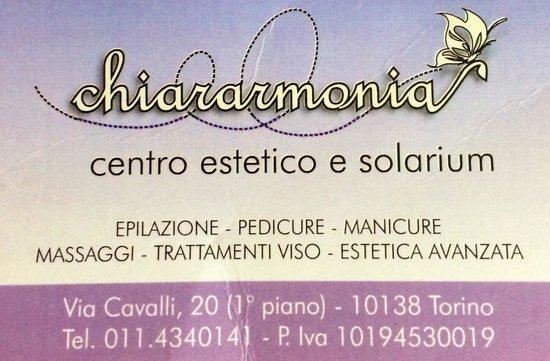 chiararmonia centro estetico&solarium