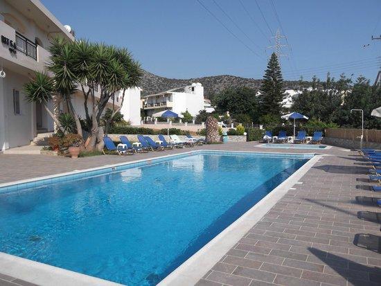 Villa Ritsa : Lovely pool