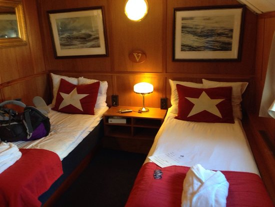 Hotell Barken Viking : Two bed room