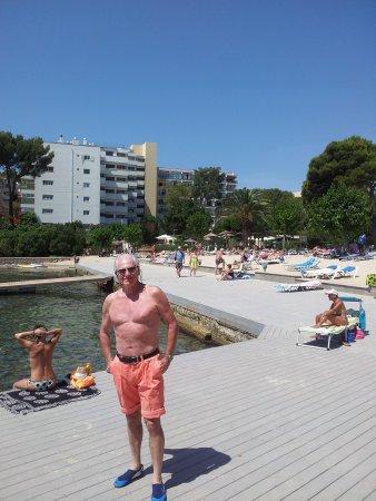 Hotel Son Caliu Spa Oasis: Hotel from beach