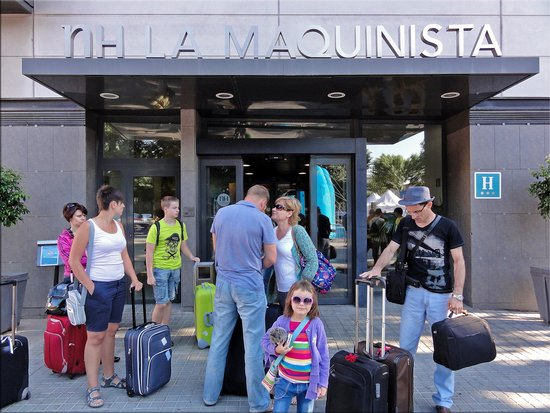 NH Barcelona La Maquinista : Уезжаем из отеля