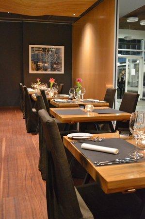 OSTA - Restorans ar skatu: Интерьер