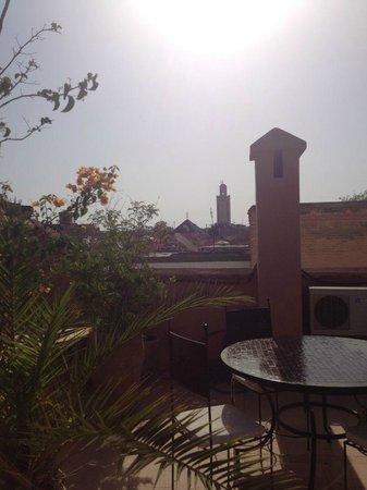 Riad Dar Saad: terrasse