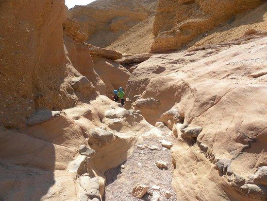 il km antecedente il Red Canyon