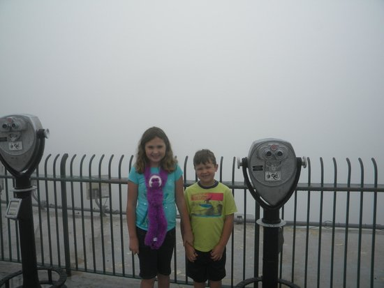 The Lookout Mountain Incline Railway: 'Standing in a cloud'
