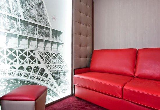Best Western Nouvel Orléans Montparnasse : Chambre