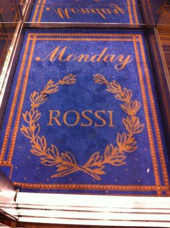 Rossi Boutique Hotel & SPA: меняют дни недели в лифте