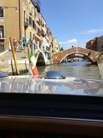 Hilton Molino Stucky Venice Hotel: dal motoscafo