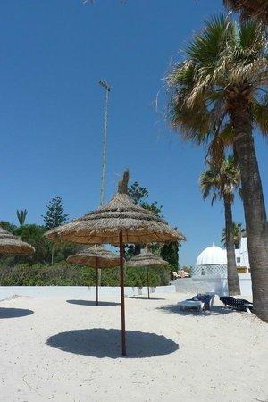 El Hana Hannibal Palace Hotel: пляж