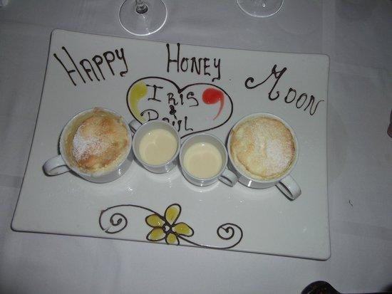 Hyatt Zilara Cancun: Marie Marie restaurant - Happy Honeymoon