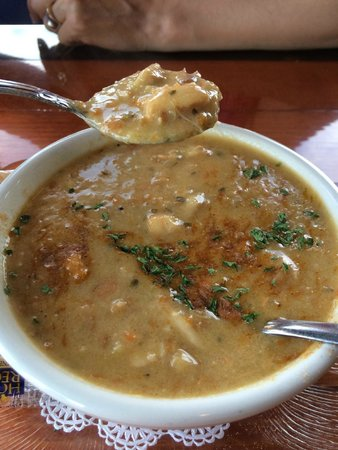 Sandbar & Grille: Best Seafood Soup I ever had!