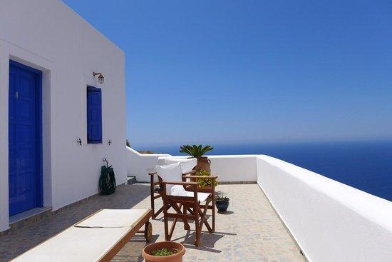 Anafi Greece Dream Studios: Sonnenterrasse