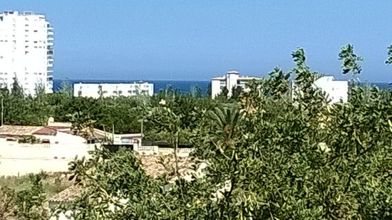 Hotel Noguera: View from our balcony