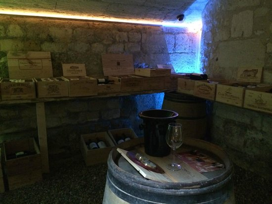 L'Hotel Particulier : wine cave