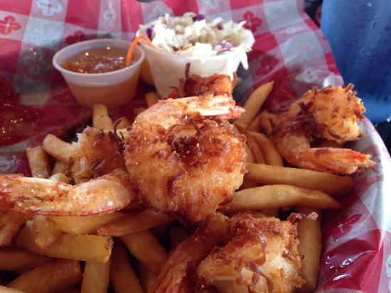 KaCey's Seafood and More : Coconut shrimp, cooked nicely, tasted like fries.