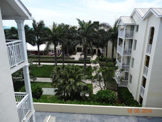 The Reach Key West, A Waldorf Astoria Resort: view to the garden