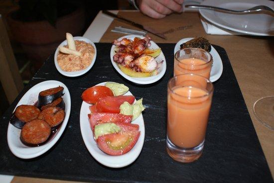 Restaurant Allium: Tapas
