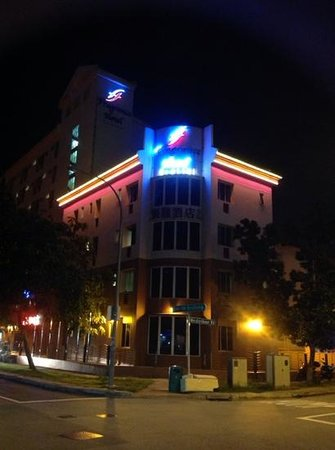 Fragrance Hotel - Crystal: across the street