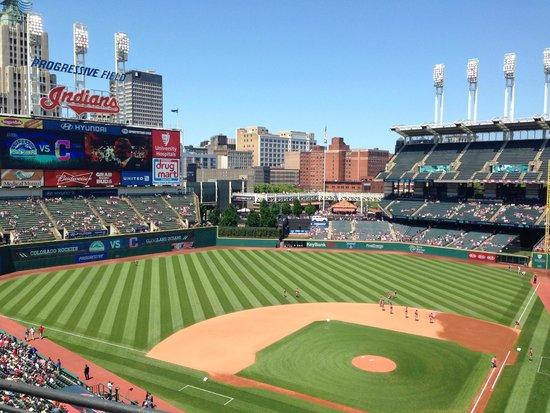 Progressive Field : View of the park