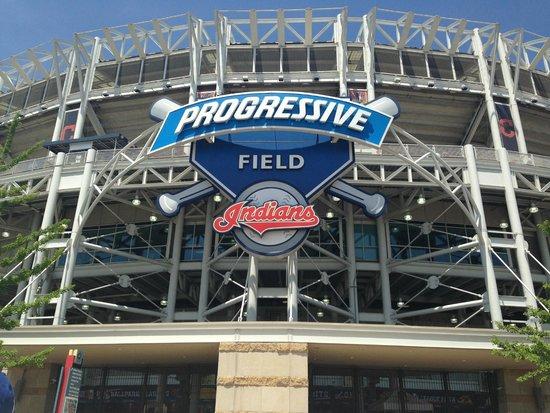 Progressive Field : Main entrance