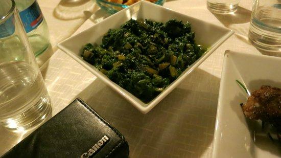 Osteria - Pub 33: Tasty greens were a favorite dish.