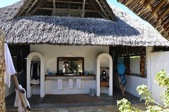 Ras Bamba Eco Lodge : Bad