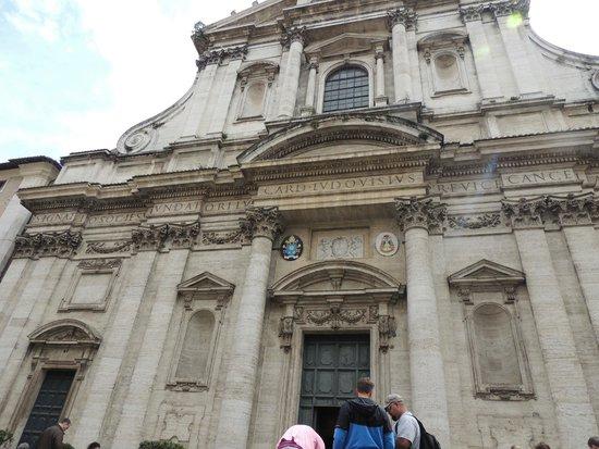 Chiesa di Sant'Ignazio di Loyola: Fachada da Igreja